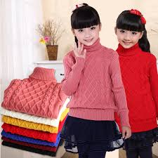 kids winter sweaters for girls baby boys turtleneck sweaters