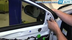how to install replace remove side rear view mirror 2001 07 volvo