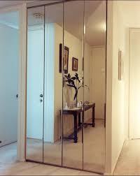 Closet Mirror Door Bifold Closet Doors Creative Mirror Shower