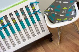 teal crib bedding set nursery comfort airplane crib bedding for baby sleep well