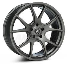 Black Mustang Rims New Wheels From Forgestar U0026 Shelby For 1994 2014 Mustangs