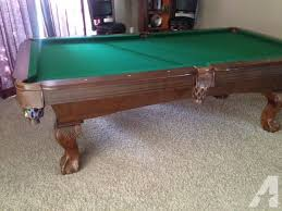 7ft pool table for sale sportcraft pool table sporting goods for sale in the usa new and