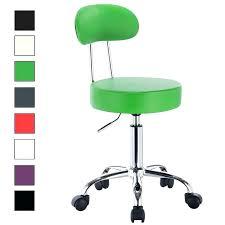 tabouret de bureau à roulettes chaise henderson wire pro