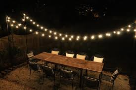 Backyard String Lighting Ideas Ways To Create A Ambiance With String Lights Backyard