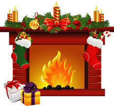 christmas stocking fireplace clipart clipartfest 3 clipartbarn