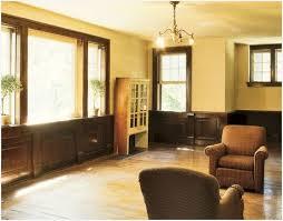 interior paint colors with dark wood trim comfy farmhouse