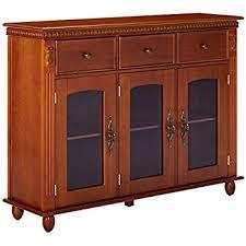 amazon com kings brand furniture wood console sideboard buffet