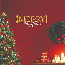 merry christmas brackets wall quotes decal wallquotes com