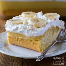 banana pudding poke cake use a cake mix for this delicious treat