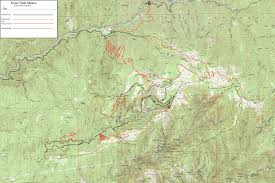 map to forest city mtb trail network mountain biking pinterest