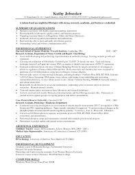 Resume Sample Substitute Teacher by Biology Resume Haadyaooverbayresort Com