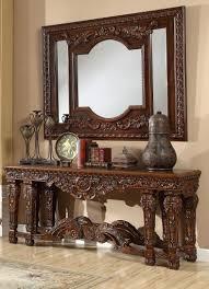 entrance table and mirror console table with mirror design universodasreceitas com