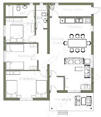 3 house plans three bedroom house plan three bedroom house plan stunning small