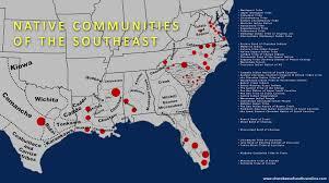 Map Of South Louisiana by Kirill Simin Design Native Southeast Map