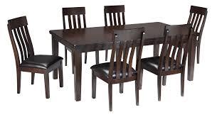 signature design by ashley haddigan 7 piece rectangular dining