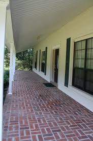 home exterior design material front porch simple front porch design with red brown paver brick