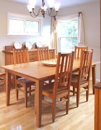 shaker table hardwood artisans handcrafted dining furniture