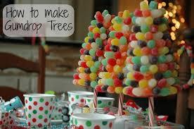 kiddie breakfast gumdrop trees hoosier
