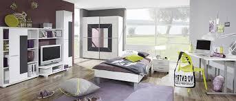 wohnwand jugendzimmer jugendzimmer möbel komplett mit nachttisch weiß hochglanz roller