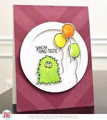 jj bolton handmade cards fang tastic thursday with avery elle