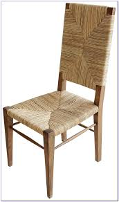furniture unbelievable cool seagrass dining chairs with