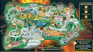Six Flags Magic Mountain Directions Six Flags Magic Mountain 2009 Park Map Park Map Six Flags Magic