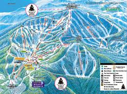 Colorado Ski Map by Northstar At Tahoe Piste Map Trail Map