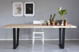 Contemporary Dining Table Contemporary Dining Table Wooden Lacquered Metal Rectangular