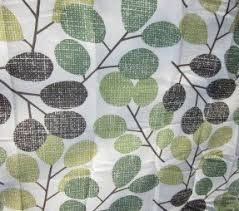 Green And Gray Shower Curtain Green Fabric Shower Curtain Foter