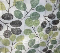 Grey Green Shower Curtain Green Fabric Shower Curtain Foter
