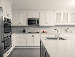 frosted white shaker kitchen cabinets cabinet styles galleria kitchen