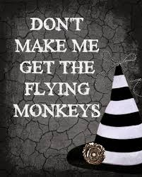 the answer is chocolate halloween flying monkeys printable