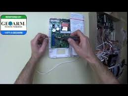 honeywell vista 20p how to wire the gsmv4g to the wired security