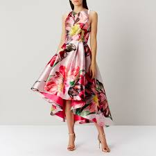 coast dress bickham floral high low dress coast stores
