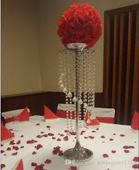 wedding table decorations candle holders silver metal crystal table centerpiece table decoration wedding road