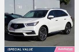 Acura Mcx 2017 Acura Mdx Suv Pricing For Sale Edmunds