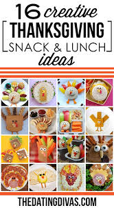 50 thanksgiving food ideas turkey treats lunch boxes