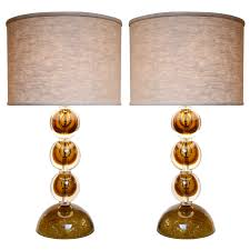 entertaining victorian table lamps with people lamp shade