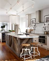 kitchen islands with bar stools 23 reclaimed wood kitchen islands pictures designing idea
