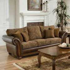 Leather And Tapestry Sofa Leather Sofa With Cloth Cushions Images Pinterest