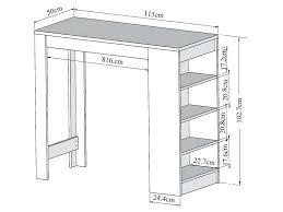 largeur plan travail cuisine largeur bar cuisine plan de travail bar cuisine largeur bar cuisine