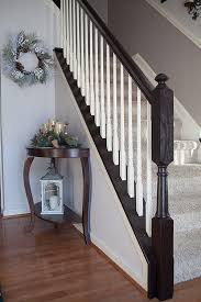 Painting A Banister White Timeless And Treasured My Three Girls Diy How To Stain And