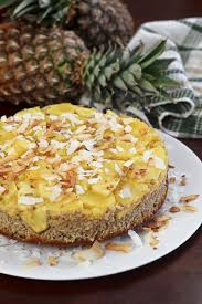 upside down pineapple breakfast cake u2022 the healthy foodie