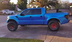 Ford Raptor Rims - ford f 150 raptor xd series xd222 enduro beadlock wheels red and black