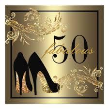 50th birthday invitations u0026 announcements zazzle com au