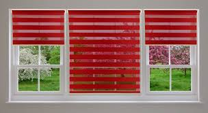 room darkening zebra roller shade window blinds with looped
