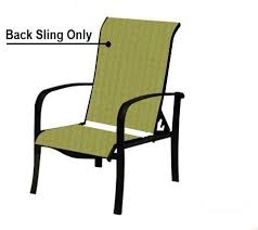 Sling Replacement For Patio Chairs Custom Slings Patio Furniture Chair Slings Replacement Slings