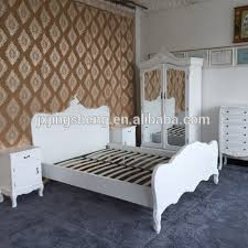 White French Bedroom Furniture Sets by Wooden And Mdf French Country Style White Kd Wardrobe Nightstand
