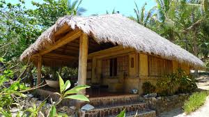 simple houses native styles in the philippines with inside chicken