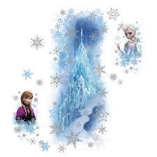 disney frozen ice palace ft elsa ana giant wall stickers elsa ana giant wall stickers